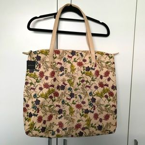 Adorne Floral Print Tote Bag New with Tags Handbag